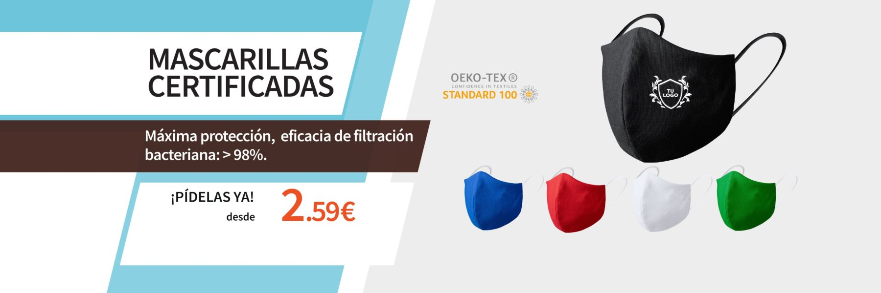 Mascarillas Certificadas Garment Printing